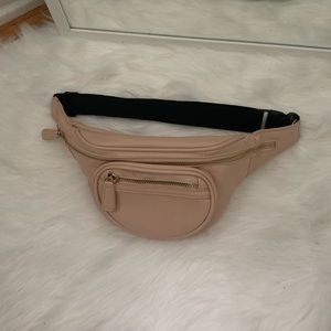 Forever 21 light pink/nude fanny pack